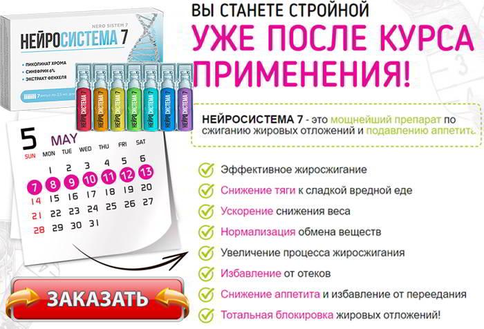 Нейросистема 7 купить в аптеке