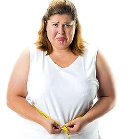 Женщина перед применением Фрути Стикса