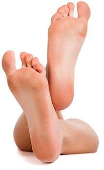 Ноги после применения пилинг спрея Cellomon