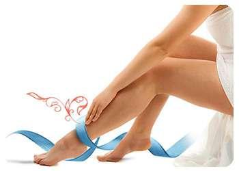 Ноги после применения Вариоля