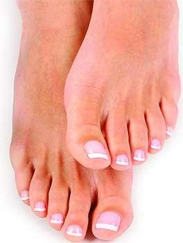 Ноги после применения средства Аквафит