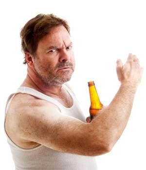 Мужчина не принимающий Алколок от алкоголизма