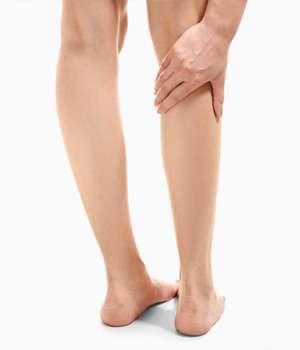 Женские ноги после применения Венорема