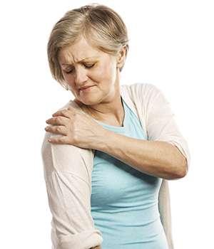 Женщина до применения препарата для суставов Инстафлекс