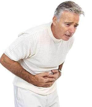 Мужчина до применения препарата unitox от паразитов