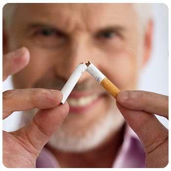 После употребления Монастырского чая человек бросил курить