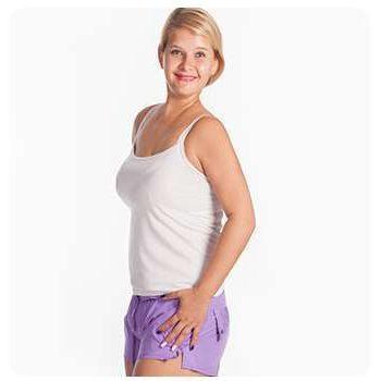 Женщина похудела с помощью средства для похудения ПБК 20