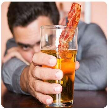 У мужчины алкоголизм до применения капель Alkofreen Neo.
