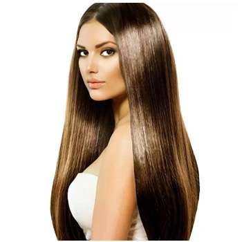 Женщина восстановила волосы благодаря средству Black Sensation.