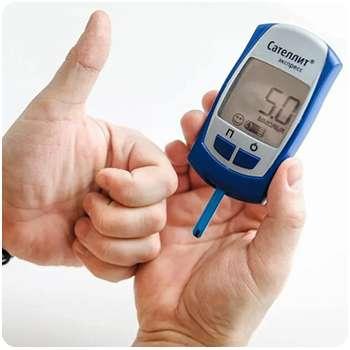 Показатели глюкозы после применения средства Diagen.