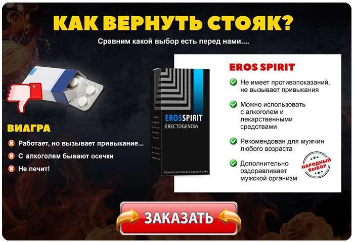 Капли Eros Spirit купить по доступной цене.