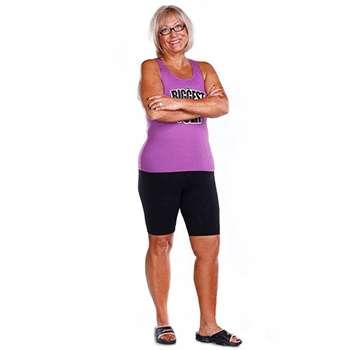 Женщина похудела с помощью средства Кето Генетик.