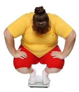 Женщина до применения препарата от ожирения Keto Power