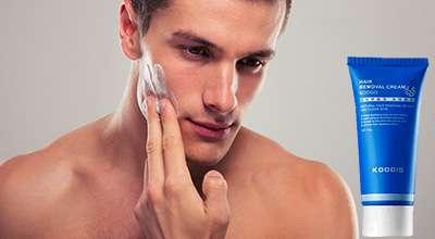 Крем Razorless Shaving для удаления щетины.