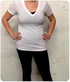 Женщина похудела благодаря препарату Dream Tonus.