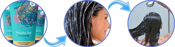 Инструкция по применению Princess Hair.
