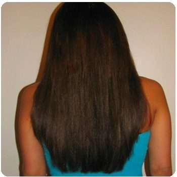 Женщина отрастила волосы благодаря средству Princess Hair.