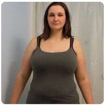Женщина похудела благодаря препарату Stop Weight.