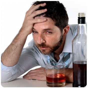 Мужчина до применения препарата Анти Алкоголь от алкоголизма.