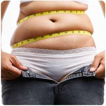 Женщина до применения препарата Keto Fit Shake для похудения.