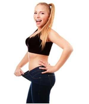 Благодаря капсулам Кето СлимБиотик для похудения девушка потеряла в весе.