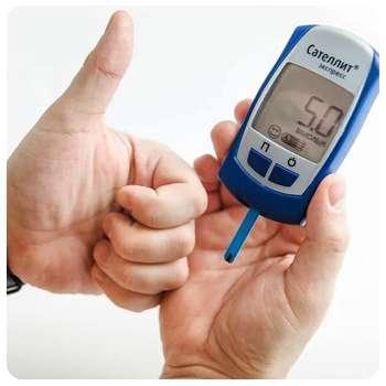 Благодаря препарату Диафаст глюкометр показывает хороший результат.