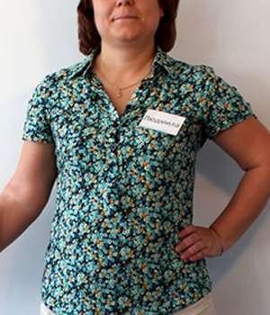 У девушки проблемы с весом до приема капсул KetoForm.