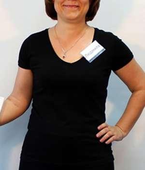 Благодаря капсулам KetoForm для похудения девушка потеряла в весе.