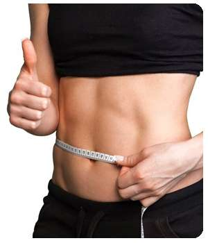 Благодаря капсулам Кетоформ для похудения девушка потеряла в весе.