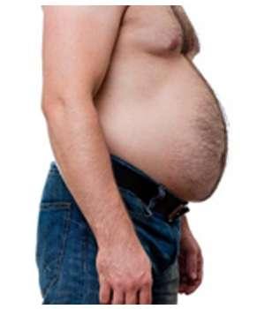 У мужчины проблемы с весом до применения капсул TwinsFit.