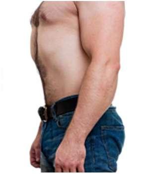 Благодаря средству TwinsFit для похудения мужчина потерял в весе.