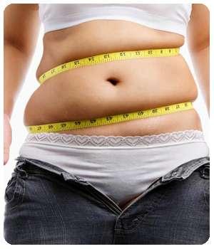 Вес девушки до применения средства GrassFit.
