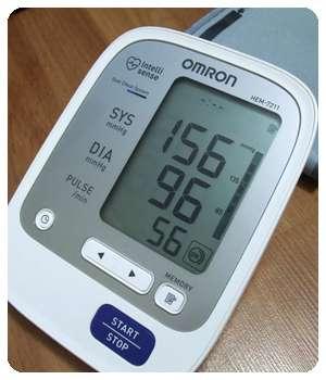 Повышенное давление до применения препарата Cardiosoft.