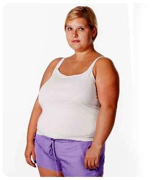 Лишний вес до применения препарата АСЖ 35.