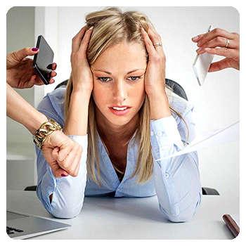 Ухудшение работоспособности мозга до применения препарата Кортекс.